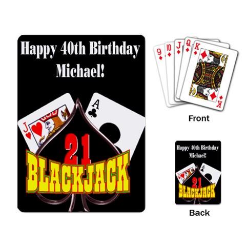 Graduation Playing Cards Custom Birthday Casino